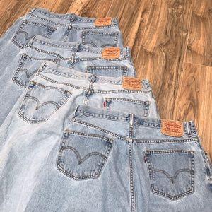 Levi's 560 comfort fit men's jeans